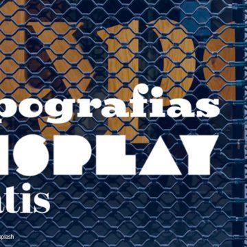 15 Increíbles tipografías Display totalmente gratis #TiposGratis No.1
