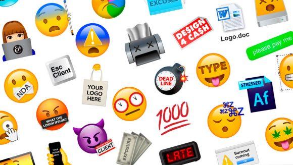 Emojis que representan la vida de cualquier creativo – Creados por Jessica Walsh