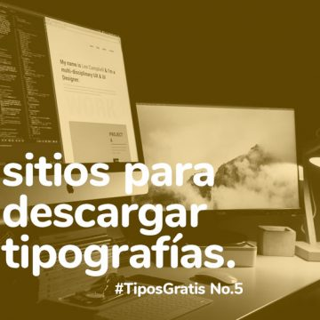 6 increíbles sitios para descargar tipografías, que seguro no conocías #TiposGratis No.5