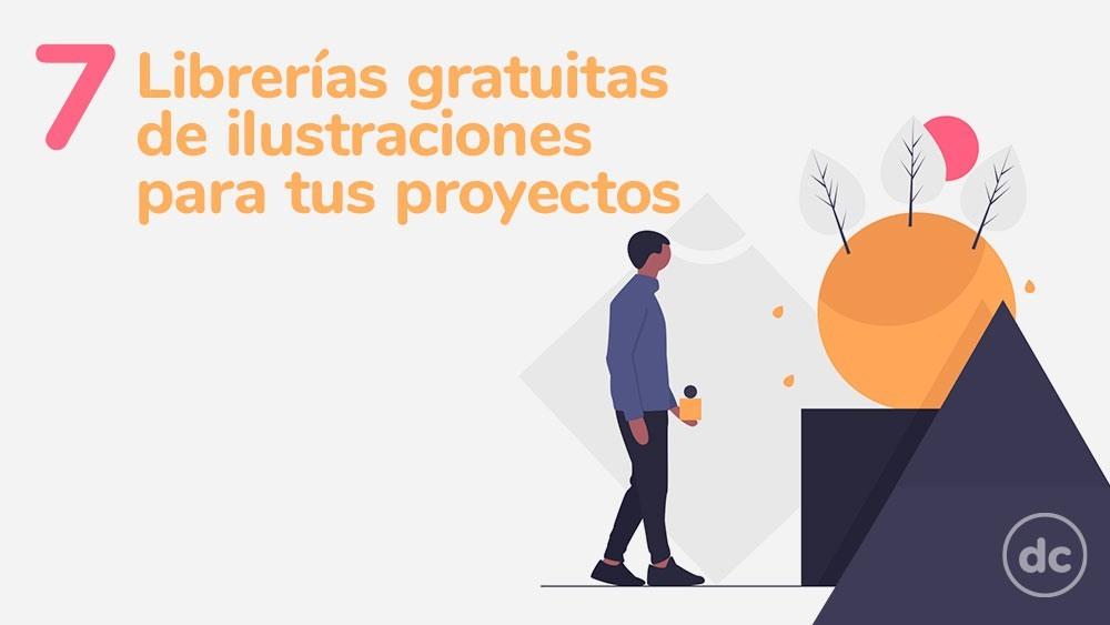 7 Librerías gratuitas de ilustraciones para todos tus proyectos (Parte 1)