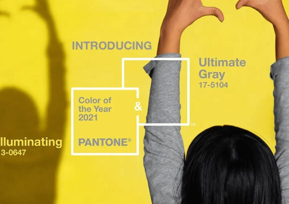 Color(es) Pantone del año 2021: Ultimate Gray y el Illuminating
