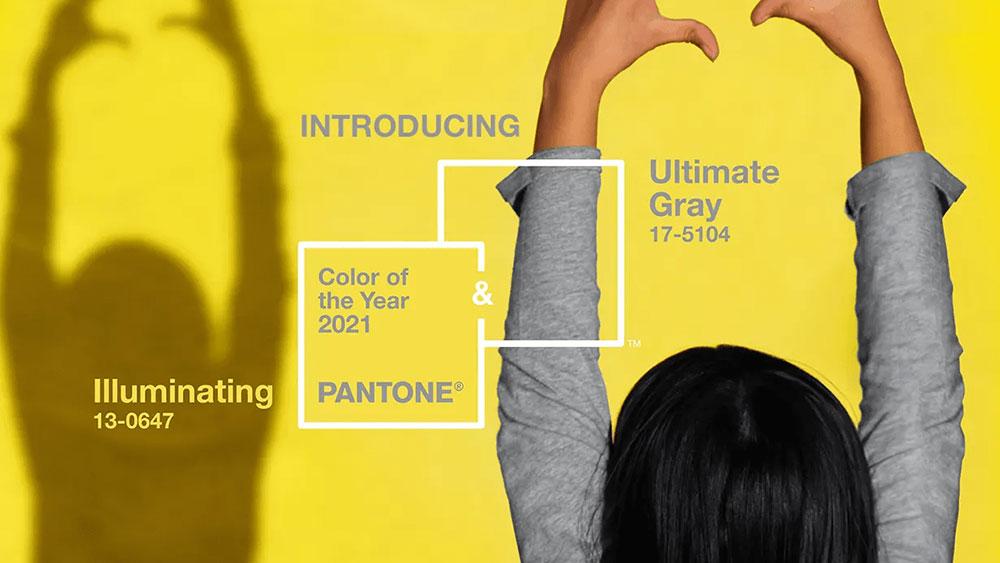 Color(es) Pantone del año 2021: Ultimate Gray y el Illuminating