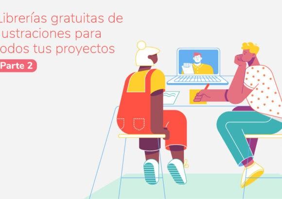 5 Librerías gratuitas de ilustraciones para todos tus proyectos (Parte 2)